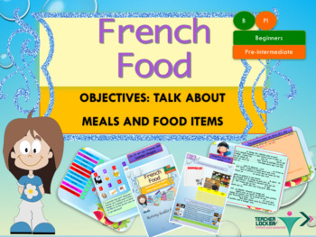 French food and meals full lesson for beginners