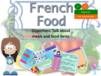 French food, nourriture PPT for beginners