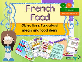 French food, nourriture full lesson for beginners