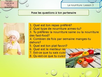 French food cooking and recipes PPT for beginners