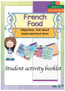 French food, nourriture booklet for beginners