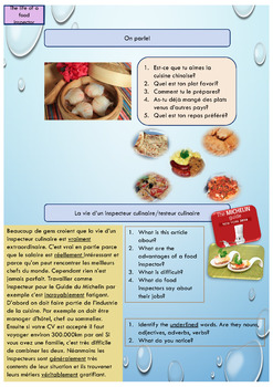 French food grammar and vocabulary full lesson for beginners