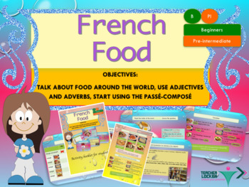 French food in the world full lesson for beginners