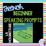 French speaking activity FOOD VOCABULARY LA NOURRITURE