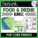 French food speaking and writing bundle ACTIVITÉS POUR LA NOURRITURE