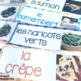 French foods speaking and writing bundle #2 LA NOURRITURE / LE DÎNER