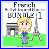 French Bundle 1 - Activités en français