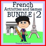 French Bundle 2 - Activités en français - Halloween, Chistmas, Valentine's Day