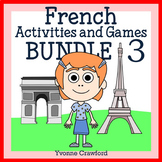 French Bundle 3 - Activités en français - St. Patrick's Day, Easter, Summer