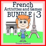 French Bundle 3 - Activités en français - St. Patrick's Day, Easter, Summer
