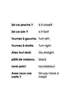 French for Travel and Beginners Phrase Book