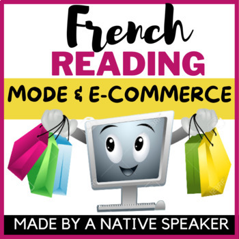 French francais Authentic IPA Infographic reading activity AP