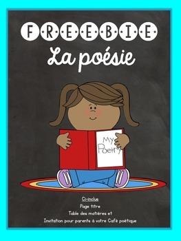 French /francais La poésie