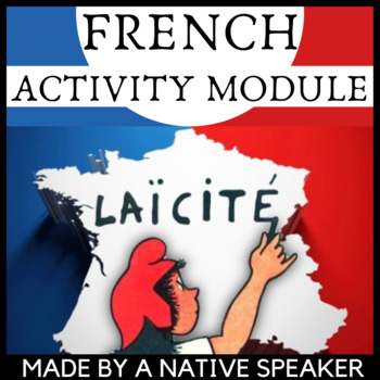 French francais Laicite authentic material and questions