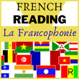 "French francais Lecture  authentic Reading ""La Francophoni"