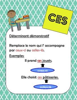 French /francais Les homophones - ces, ses