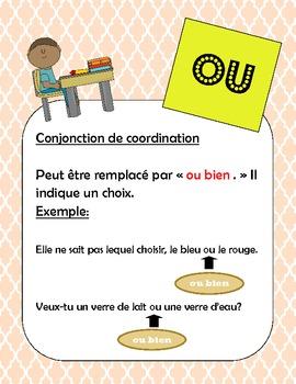 French /francais Les homophones - ou, o