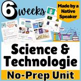 THEMATIC UNIT PLAN BUNDLE Science & Technology French Francais AP social media