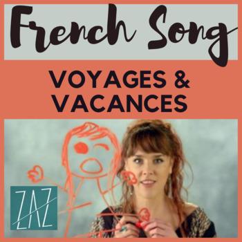 French francais chanson song activity Futur Grammar AP