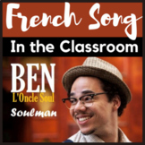 French SONG with activities to work on ADJECTIVES / francais chanson adjectifs