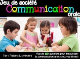 Communication orale - board game - oral communication