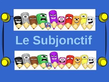 French francais subjunctive subjontif w/ necessity present