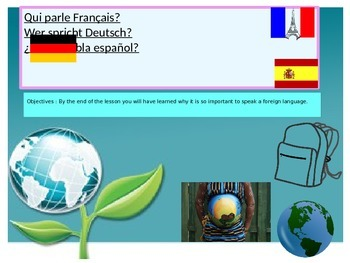 French freebie Why learn a foreign language?