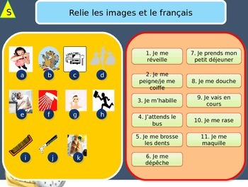 French freebie daily routine in the morning