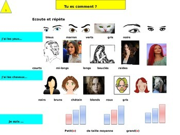 French freebie physical description for beginners