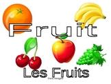 Des fruits et légumes
