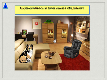 French furniture and prepositions full lesson for beginners