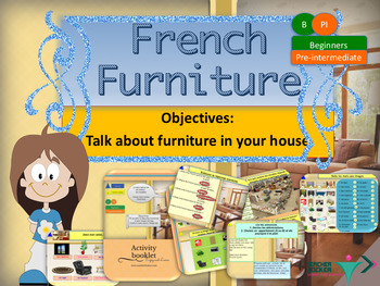 French furniture, meubles booklet for beginners