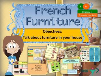 French furniture, meubles full lesson for beginners