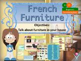 French furniture, les meubles dans la maison PPT for beginners