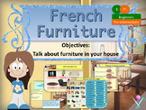 French furniture, les meubles dans la maison beginners