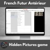 French futur antérieur verbs - Hidden pictures game