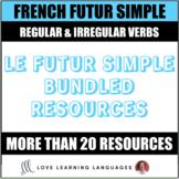French futur simple resource bundle - Speaking activities,