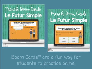 French futur simple bundle - games and speaking activities / le futur simple