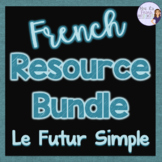 French futur simple bundle - games and speaking activities