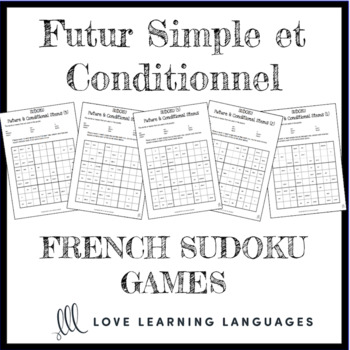 French future and conditional irregular stems sudoku games