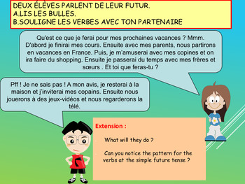 French future tense, future simple full lesson for beginners