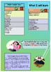 French future tense, le futur simple booklet for beginners