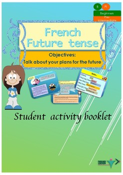 french future tense le futur simple booklet for beginners tpt