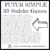 French future tense sudoku games - Le futur simple