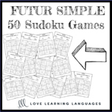 French future tense sudoku puzzles - Le futur simple - Distance Learning