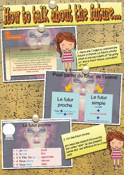 French future booklet, le futur for beginners