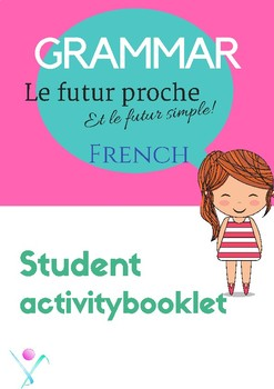 French future worksheet, le futur for beginners NO PREP