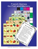 French games Go Fish and Memory  (good for reluctant students)