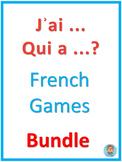 French games – J'ai ... Qui a ...? Bundle