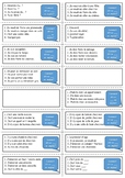French general revision flashcards - Going out and Home topic
